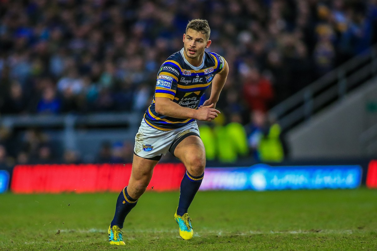 Stevie Ward in action for Leeds