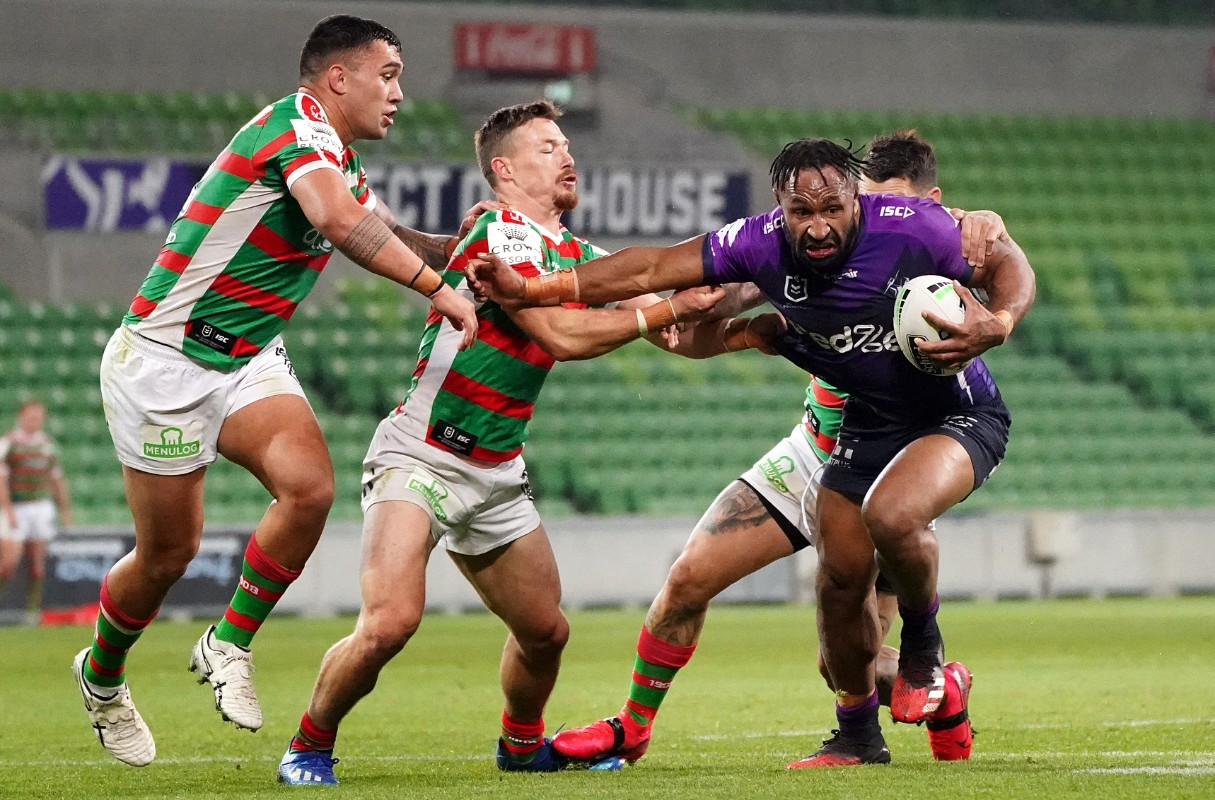 Melbourne 22 8 South Sydney Storm Too Strong For Rabbitohs Love Rugby League