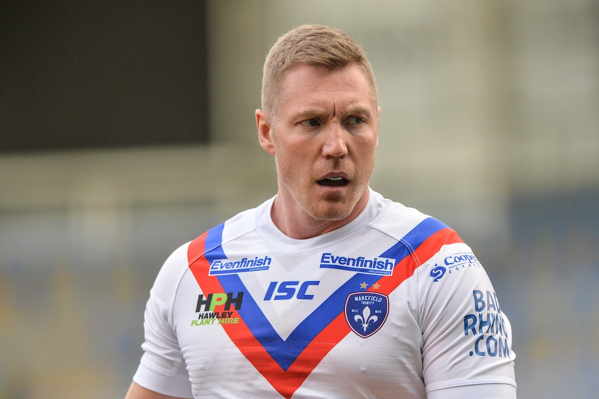 Chris Green in action for Wakefield Trinity