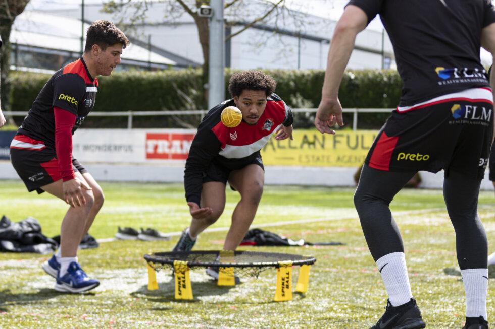 Jacob Ogden in London Broncos training