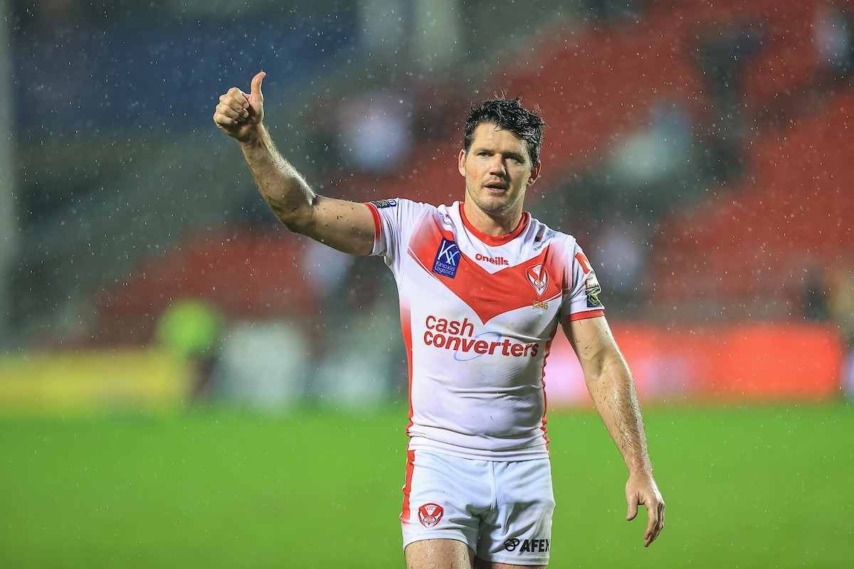 Lachlan Coote in action for St Helens