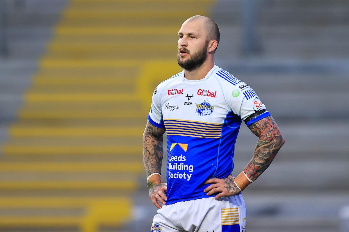 Luke Briscoe in action for Leeds