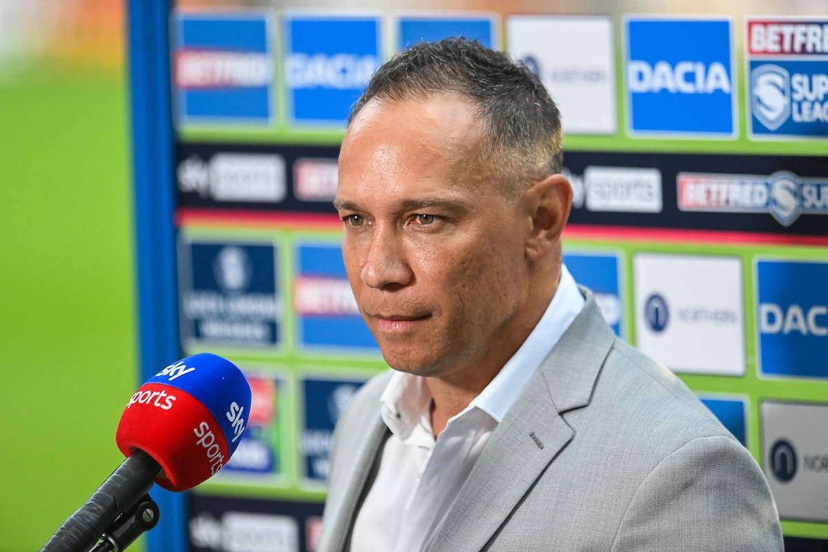 Former Wigan head coach Adrian Lam