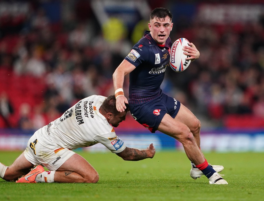 Lewis Dodd in action for St Helens