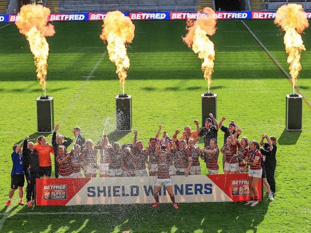 Huddersfield win 2021 Women's Super League Shield