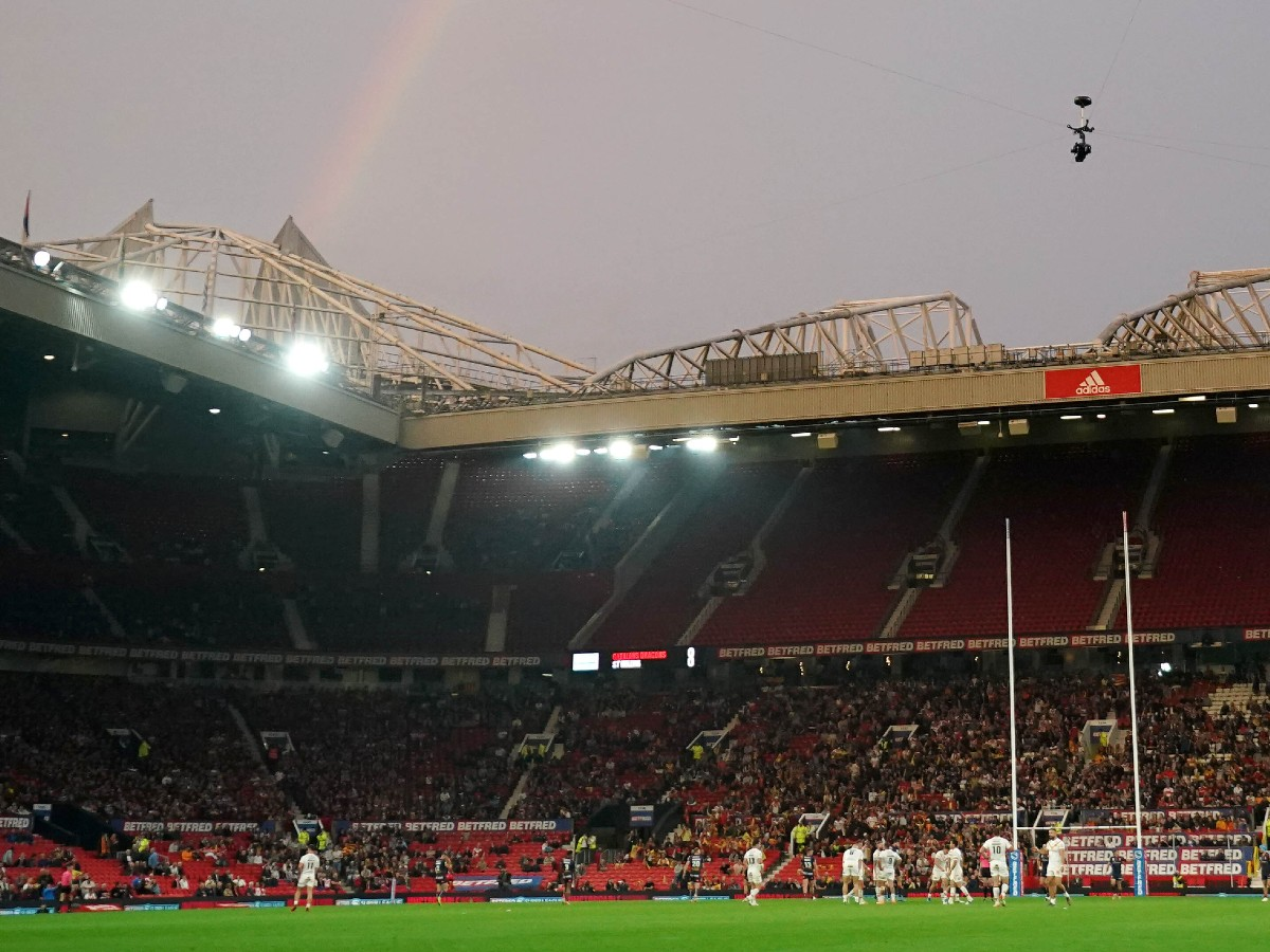 Grand Final crowd general view at Old Trafford