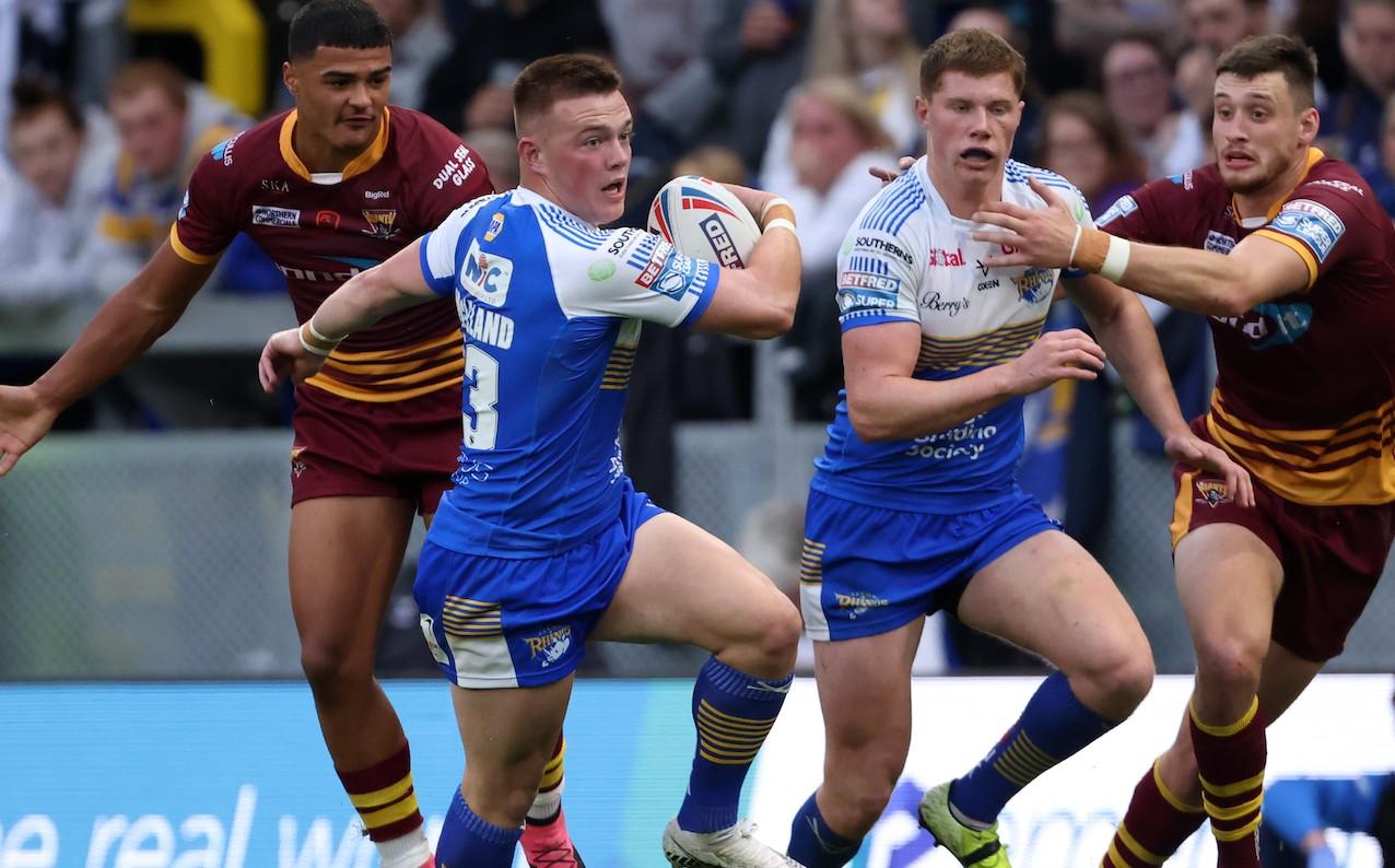 Callum McLelland in action for Leeds