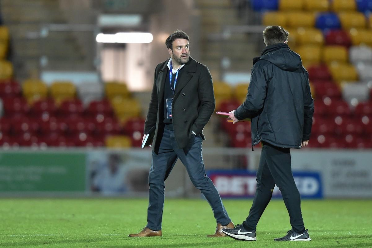 York coach James Ford