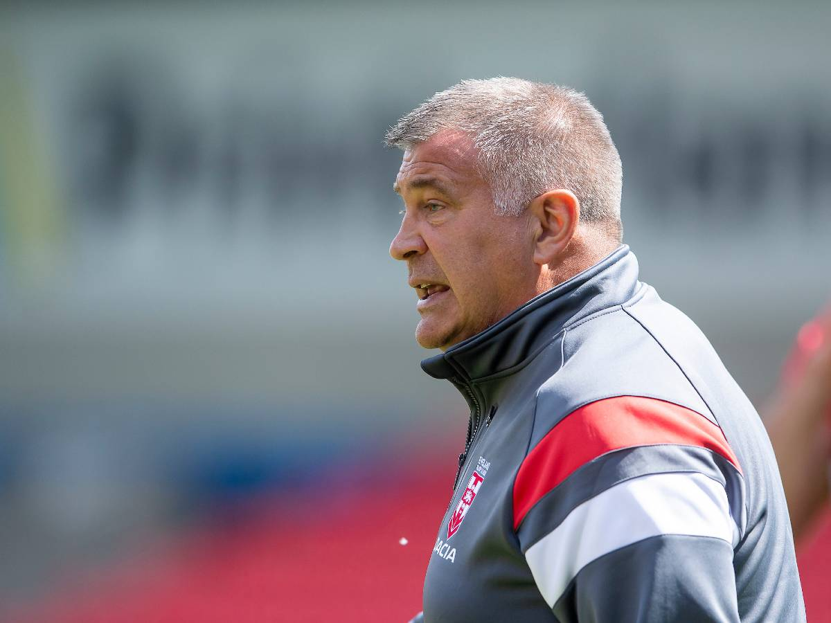 Shaun Wane ahead of French rugby league's test with England