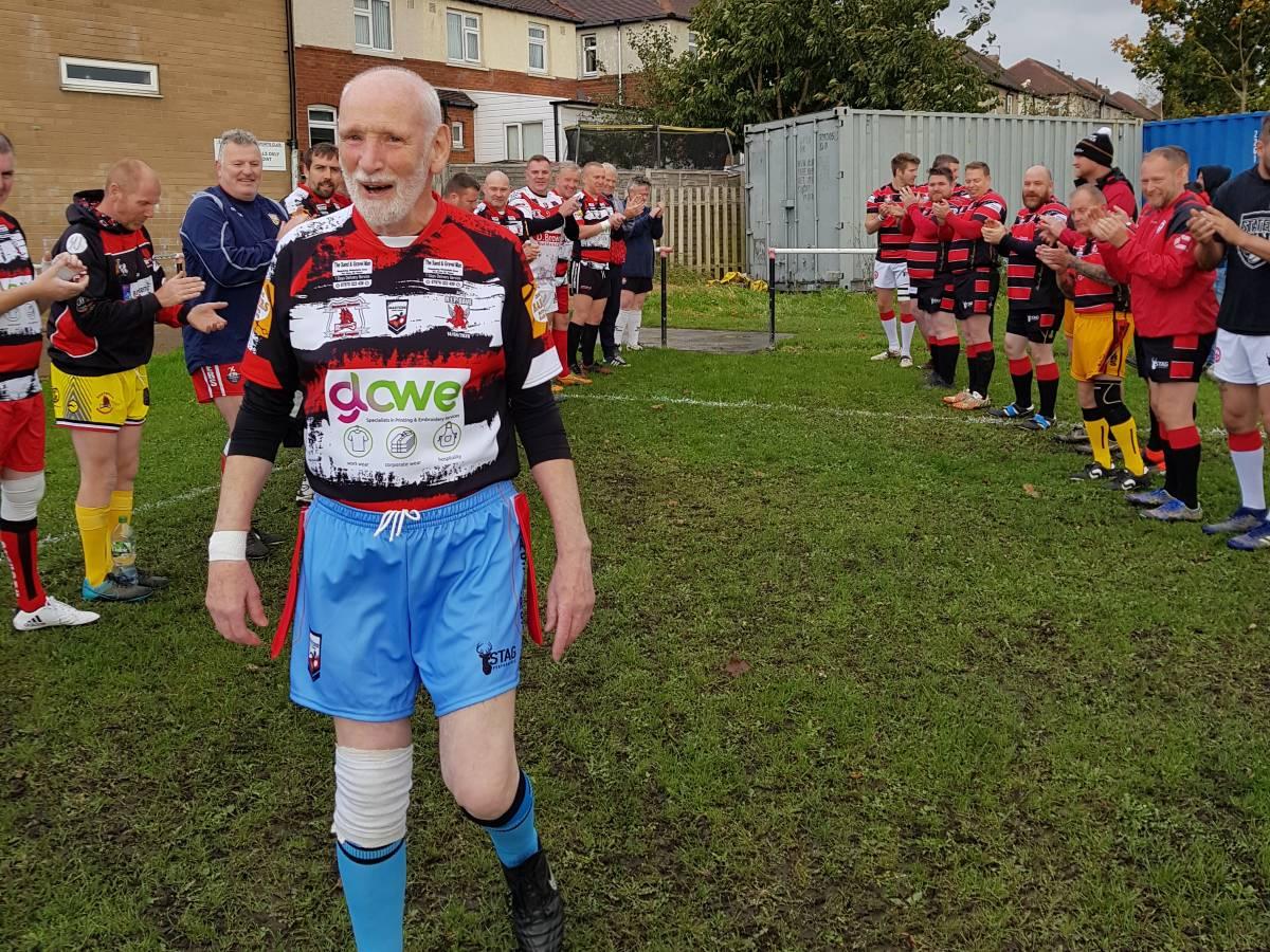 Masters Rugby League Brian Rishworth