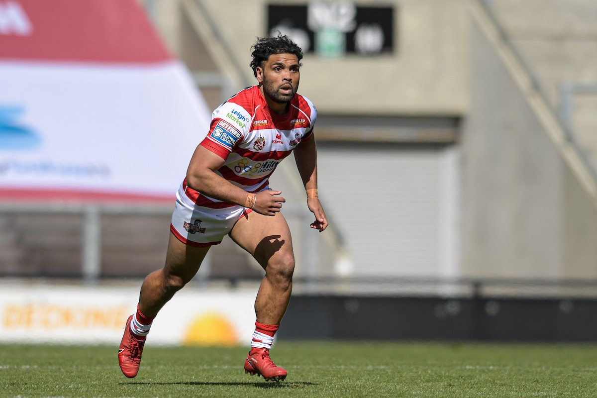 Mark Ioane in action for Leigh
